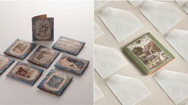 法國頂級香氛推出藝術品包裝「紙肥皂」!隨身好攜帶+精緻外盒超值得收藏