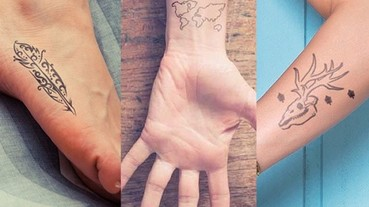 刺青害怕回不去 先來個「有機刺青」壓壓驚
