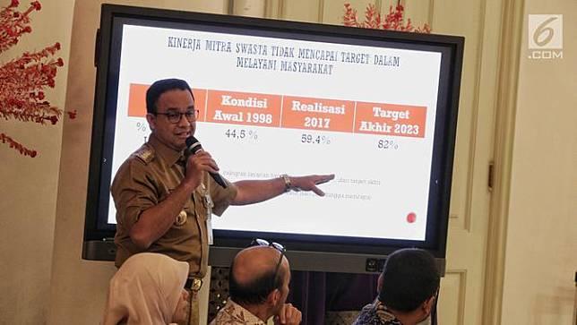 Pemprov DKI Jakarta Segera Ambil Alih Pengelolaan Air dari Swasta