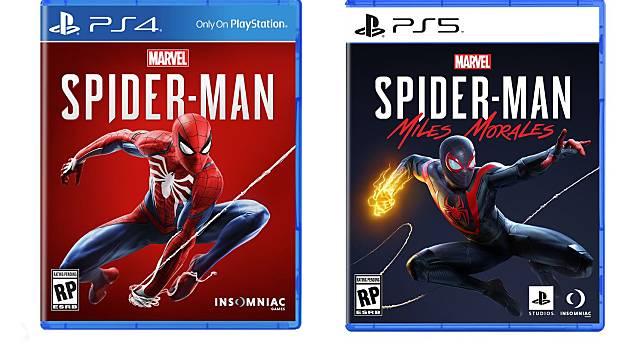 Perbandingan desain kaset game PS5 dan PS4. (Sony)