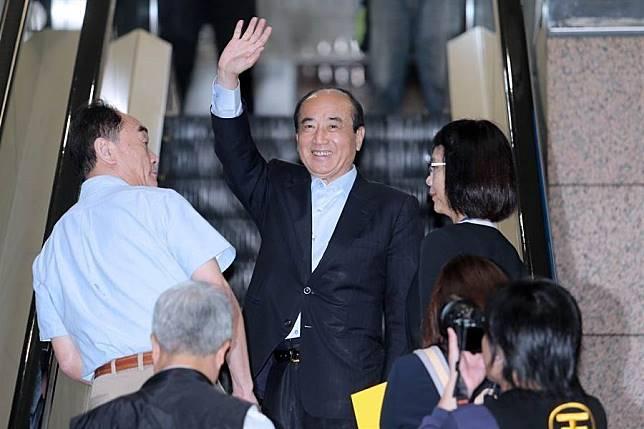 前立法院長王金平。(資料照片,黃世麒攝)