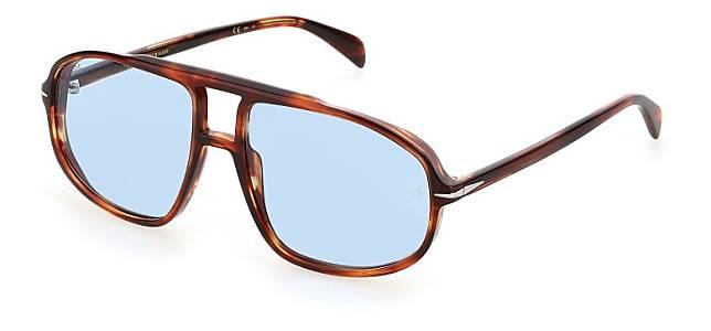 DB1000太陽眼鏡以意想不到的手法演繹修長的特大水滴型鏡框。(互聯網)