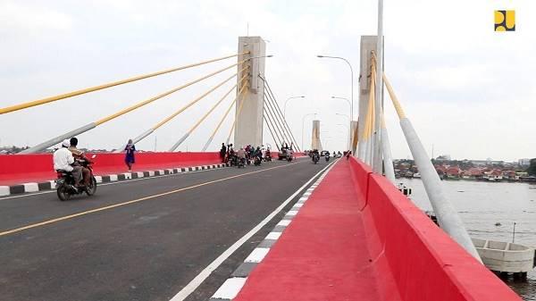 Indrastruktur Jembatan Ini Dibiayai Surat Berharga Syariah