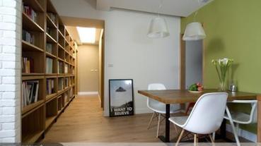 把書香味砌成一面好牆