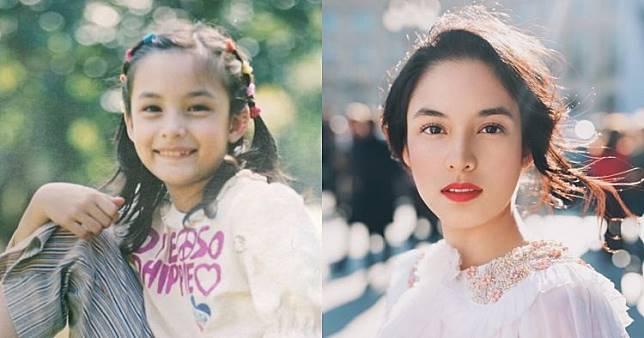 Selain Luna Maya, 10 artis ini juga punya wajah cantik sejak kecil
