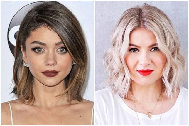 Inspirasi Gaya Rambut Sebahu Untuk Wajah Bulat Agar Terlihat Lebih Muda Womantalk Com Line Today