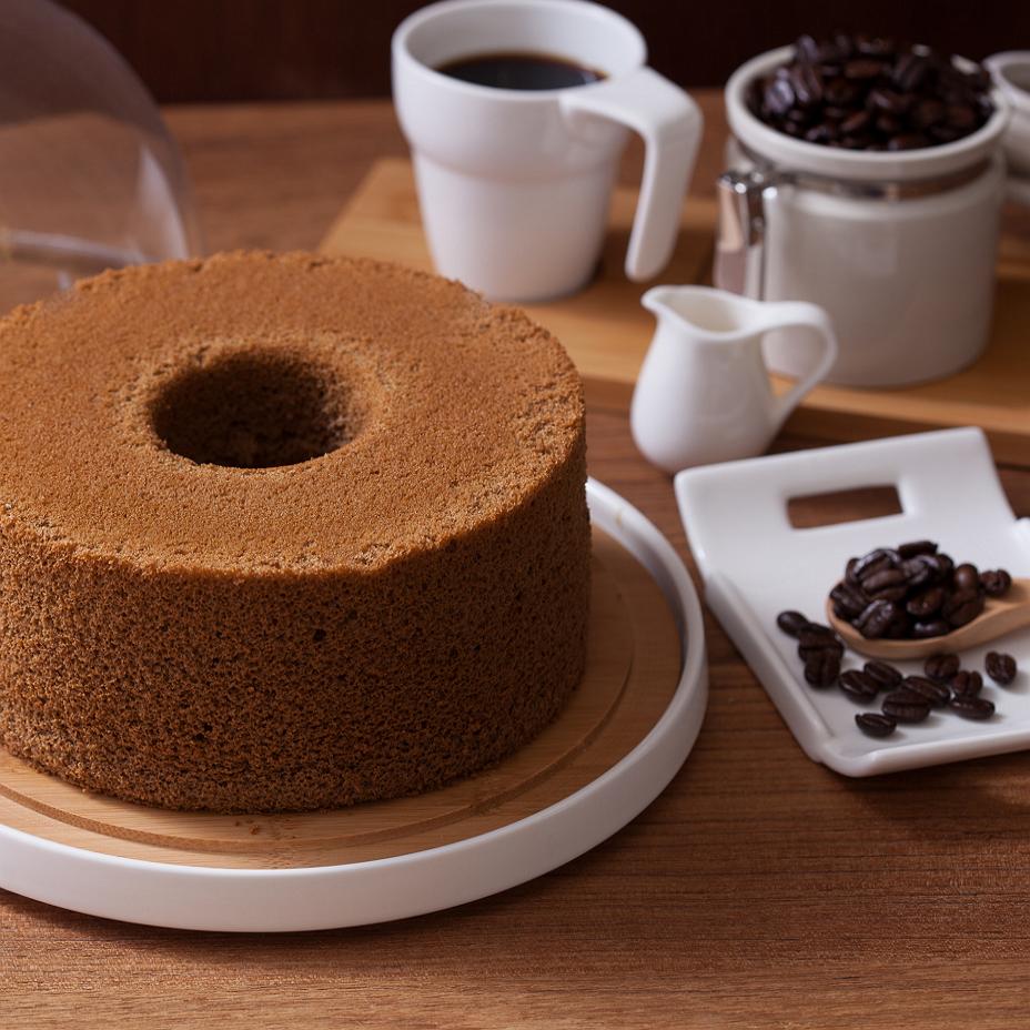 Soft Green 義式咖啡戚風 (七吋) 彌月蛋糕 天然 手作 無添加