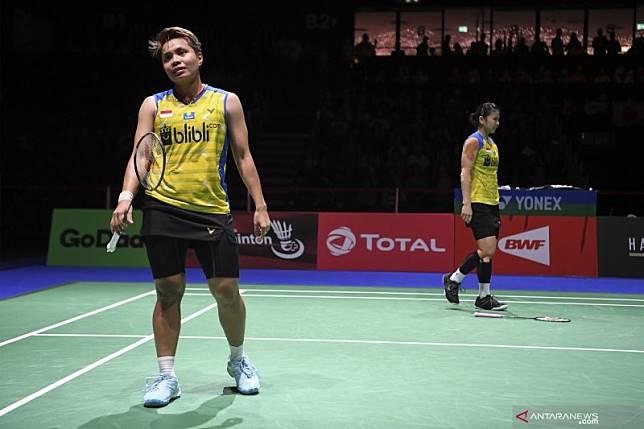 Kejuaraan Dunia Bulu Tangkis 2019: Ganda putri Indonesia terhenti di babak semifinal