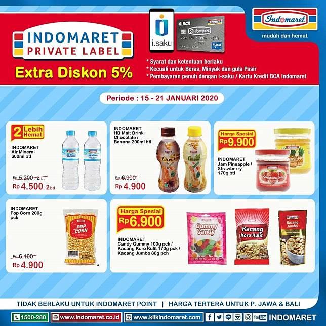 Indomaret Promo Private Label Indomaret Line Today