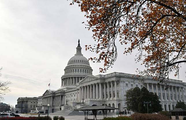 A December 10, 2018 photo shows the US Capitol in Washington, DC. AFP/Mandel Ngan