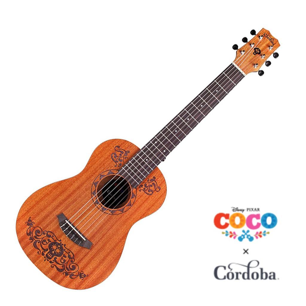 Cordoba x Disney Coco可可夜總會 Mini MH 桃花心木古典吉他 - 【他,在旅行】