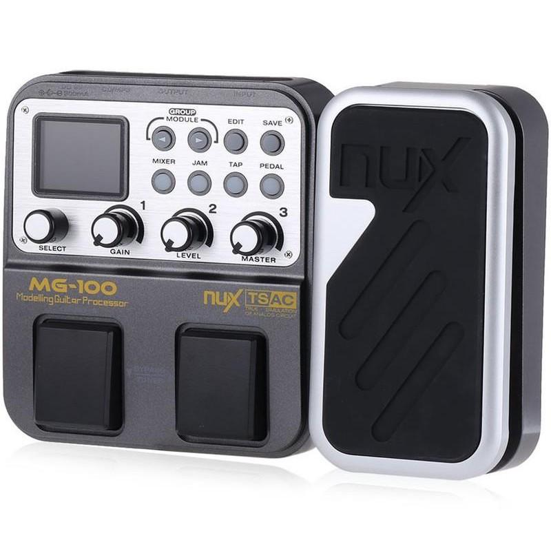 【新理想樂器】現貨 NUX MG-100 電吉他效果器 綜合效果器 數位效果器 吉他效果器