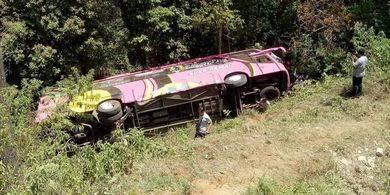 4 Fakta Kecelakaan Bus Rombongan SMK I PGRI, 2 Meninggal hingga Berwisata ke Bali