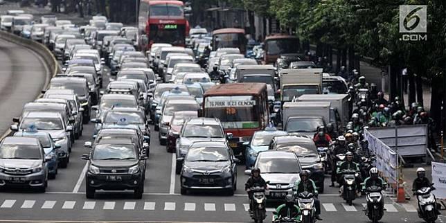 Ganjil genap DKI Jakarta (Liputan6.com)