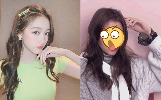 ▲鹿晗女友關曉彤素顏照曝光。(圖/翻攝微博)