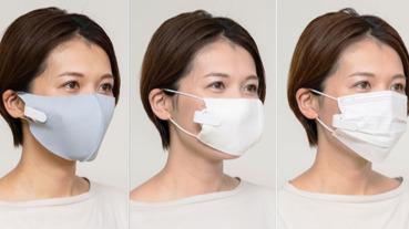 戴在口罩裡的小型風扇 AirPds