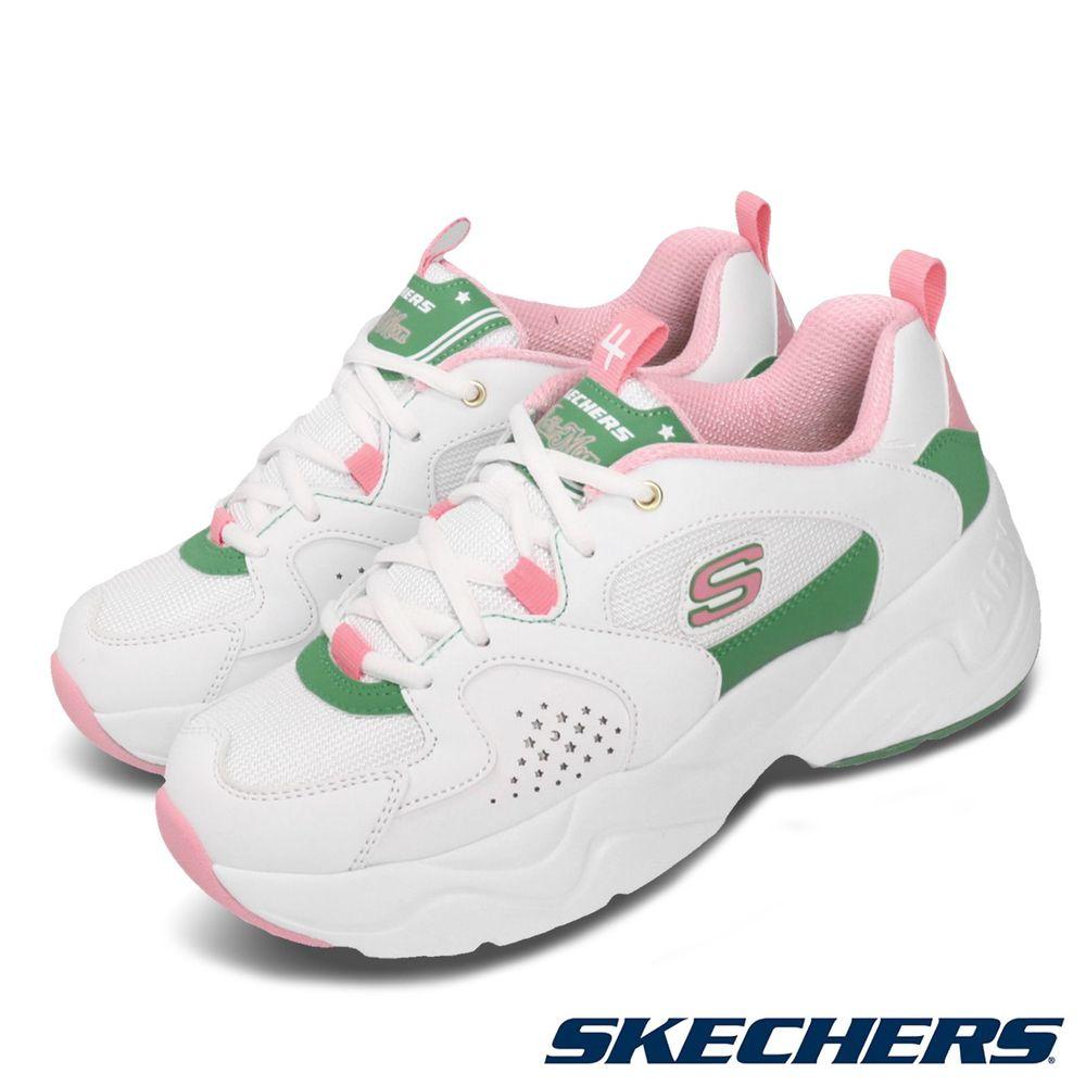 腳寬者建議大半號購買品牌:SKECHERS型號:66666267WPK品名:D Lites 2.0 X Sailor Moon版型:腳寬者建議大半號