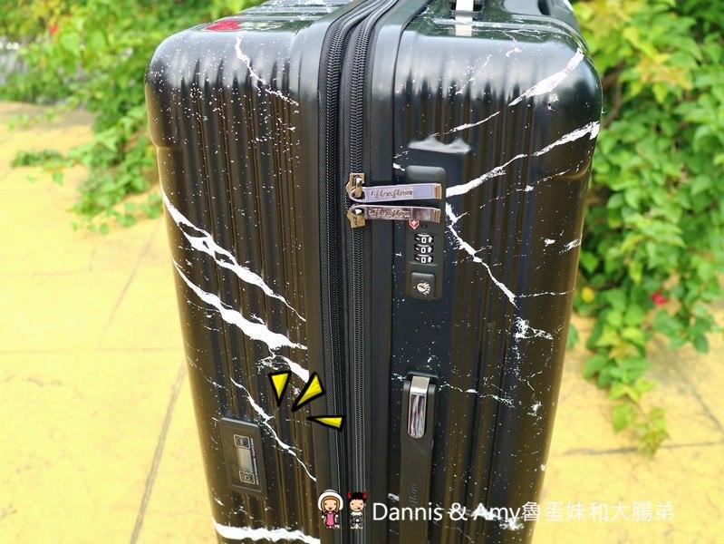 《秤重行李箱開箱》法國Flexflow 智能測重行李箱。里爾系列可擴充款式。容量大黑色大理石外型有質感。超重問題免煩惱︱(影片)