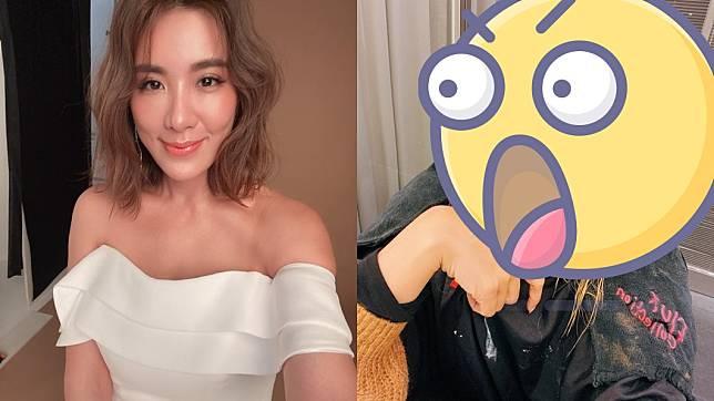 藝人小禎曝光新造型,網友認為很像劉雨柔。(圖/翻攝小禎臉書)