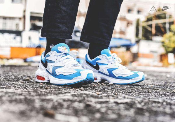 ISNEAKERS Nike Air Max 2 Light 復古 慢跑鞋 老爹鞋 休閒鞋 男鞋 AO1741-100
