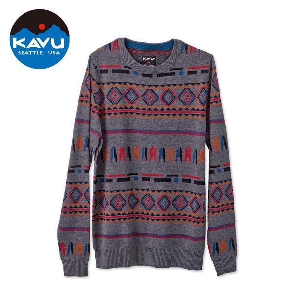 KAVU 2018秋冬新品,以特有的獨家圖騰花紋設計,是秋冬時尚穿搭的不二選擇!