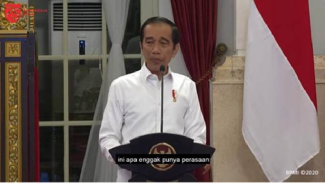 President Joko Widodo (Jokowi). YouTube