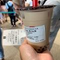 ブラックミルクティーM - 実際訪問したユーザーが直接撮影して投稿した西新宿タピオカゴンチャ 新宿西口ハルク店の写真のメニュー情報