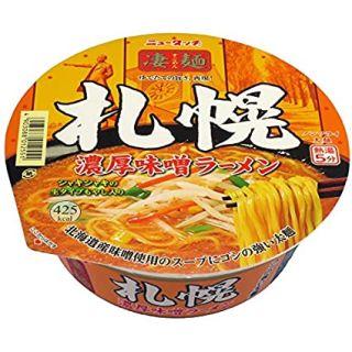 凄麺札幌濃厚味噌ラーメン
