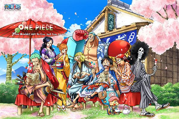【拼圖總動員 PUZZLE STORY】航海王-四季之春 PuzzleStory/海賊王 One Piece/300P