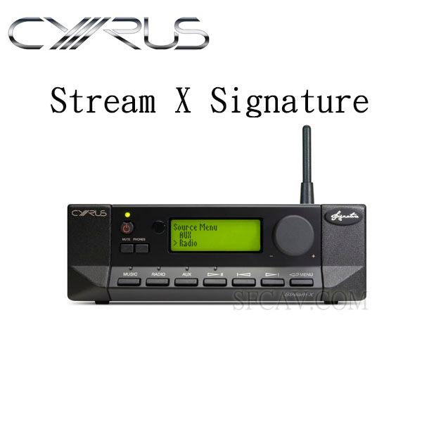 【勝豐群新竹音響】CYRUS Stream X Signature 旗艦級數位串流音樂處理器