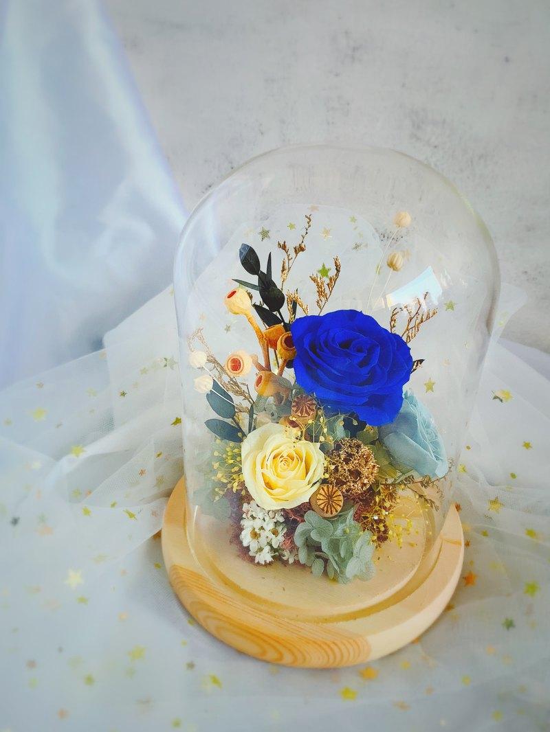 ?客訂撞色系中性款鐘罩 中性款的鐘罩,少了粉嫩的浪漫,多了更多剛毅的線條,客戶說好美,小花粉們喜歡嗎???