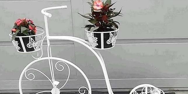 Tempat Pot Bunga Unik Dan Menarik Bikin Suasana Rumah Makin Asik Vemale Com Line Today