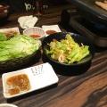 サムギョプサルの定番花三段バラ - 実際訪問したユーザーが直接撮影して投稿した歌舞伎町韓国料理とん豚テジ 新宿店の写真のメニュー情報