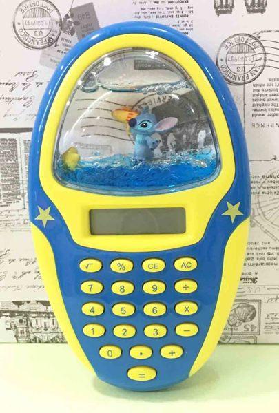 【震撼精品百貨】Stitch_星際寶貝史迪奇~橢圓計算機-藍*72467