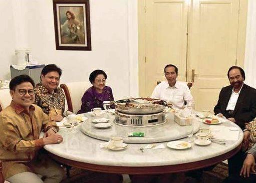 Jokowi Undang Ketum Parpol Bahas Omnibus Law Hingga Jiwasraya