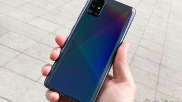 冰晶絕美 Samsung Galaxy A51 開箱實測 ,微距讓手機攝影也「O 極限」