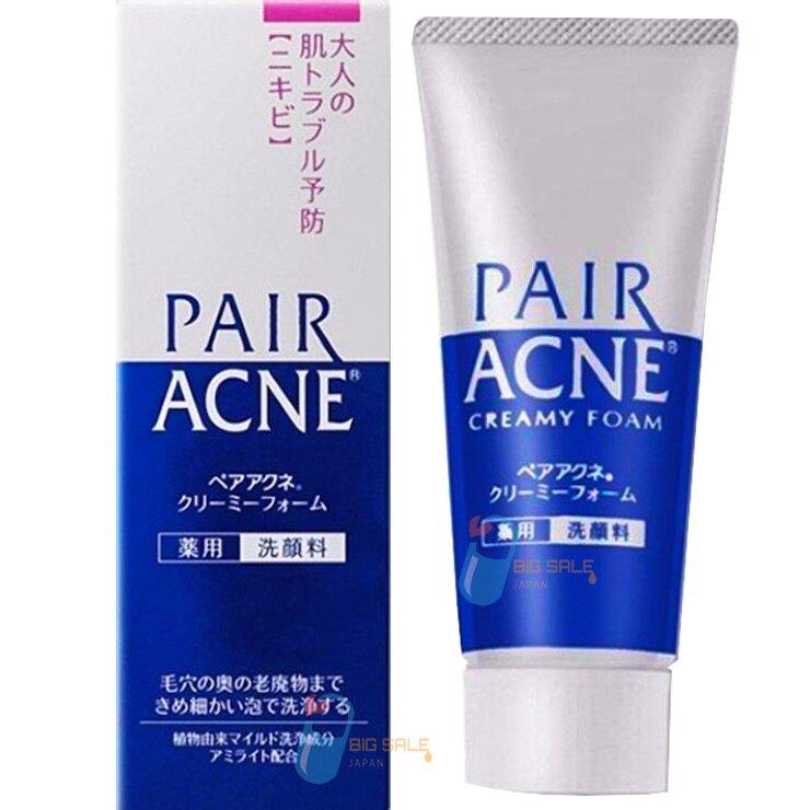 日本獅王 PAIR ACNE 藥用洗面乳 / Creamy Foam