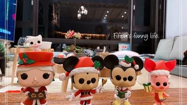   生活   FUNKO POP收藏公仔 迪士尼聖誕系列 叮叮噹米奇米妮敲可愛