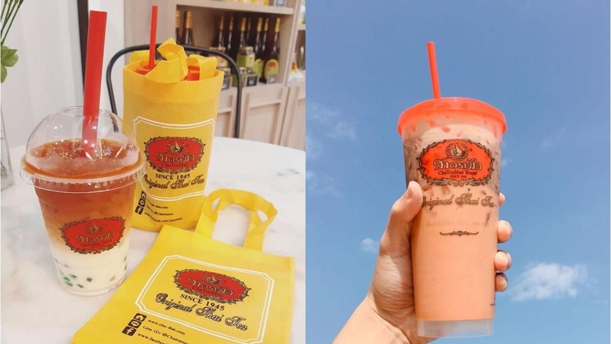 一喝就愛上~泰國經典手標茶香港也喝得到!奶茶控快衝一波