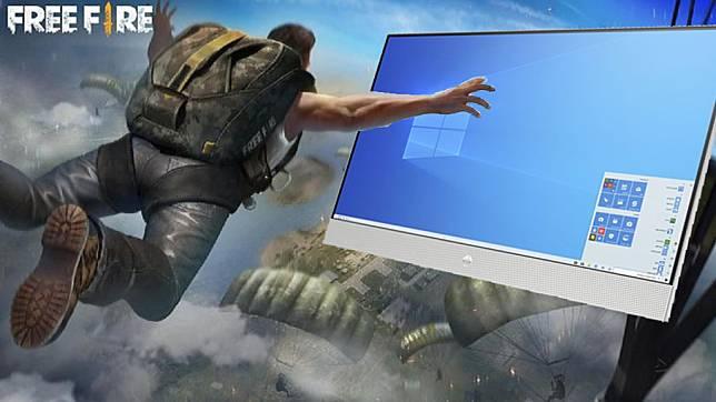 4 Cara Download Dan Main Free Fire Di Pc Atau Laptop 2021 Gamebrott Line Today