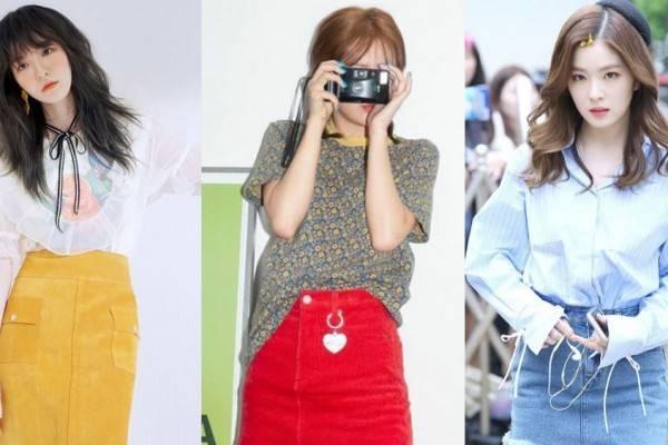 10 Ootd Rok Ala Red Velvet Inspirasi Gaya Hangout Yang Effortless