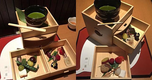和式HIGH TEA!三層木箱抹茶下午茶 @ 錦一葉
