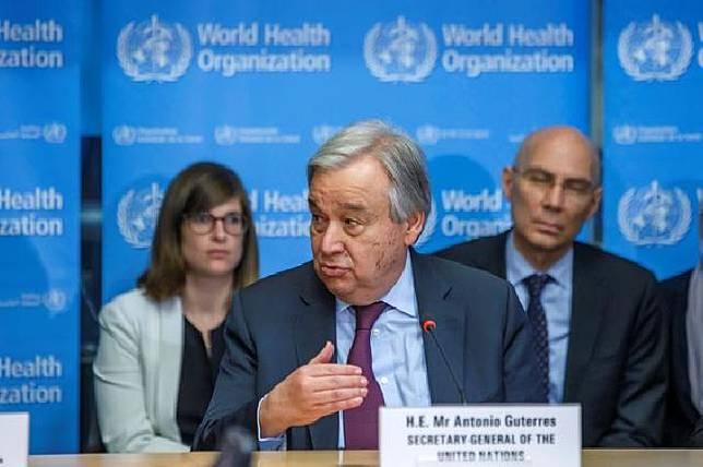 Sekretaris Jenderal PBB Antonio Guterres.[REUTERS]