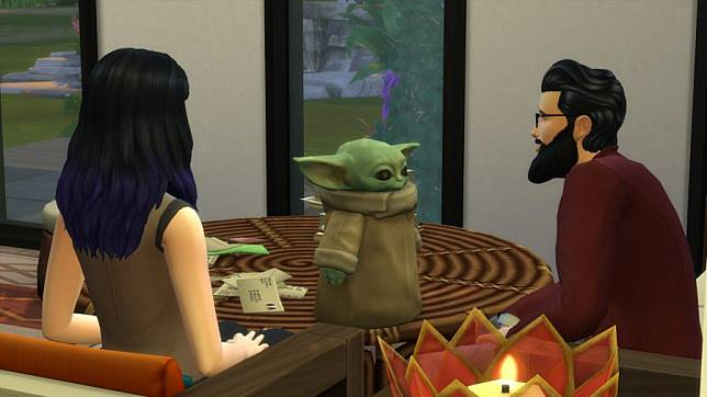 Baby Yoda ถูกอัปเดตเข้าไปอยู่ในเกม The Sims 4 แล้ว
