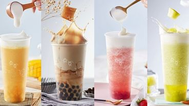 芒果冰天王《ICE MONSTER》開賣超濃郁「茶冰塊」手搖飲!珍奶、水果茶、奶蓋系列全都加入濃郁茶冰塊!