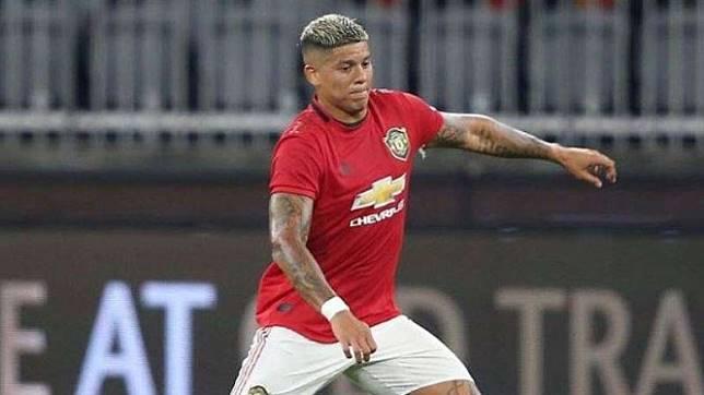 Pemain belakang Manchester United, Marcos Rojo