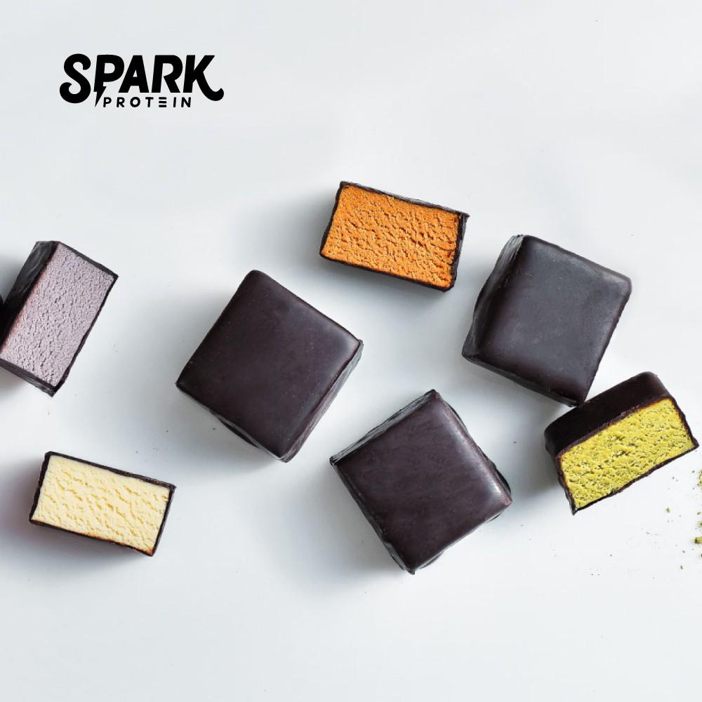 [現貨] Spark Bite 高蛋白巧克力32入盒裝 - 綜合口味 | Mini 蛋白棒 | 飽足感高蛋白營養零食