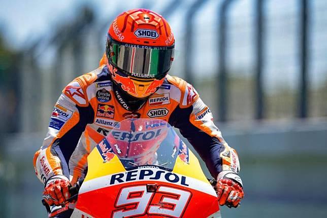 Marquez Geram Kecelakaan Buat Dirinya Gagal Catatkan Waktu Terbaik