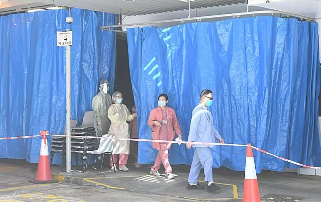 東區醫院否認有來自武漢病人求醫。資料圖片