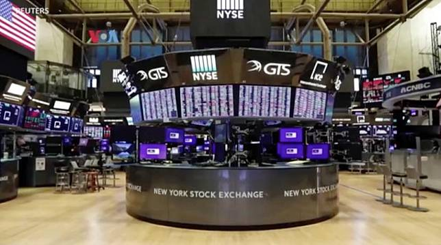 Bursa saham dan perdagangan di New York